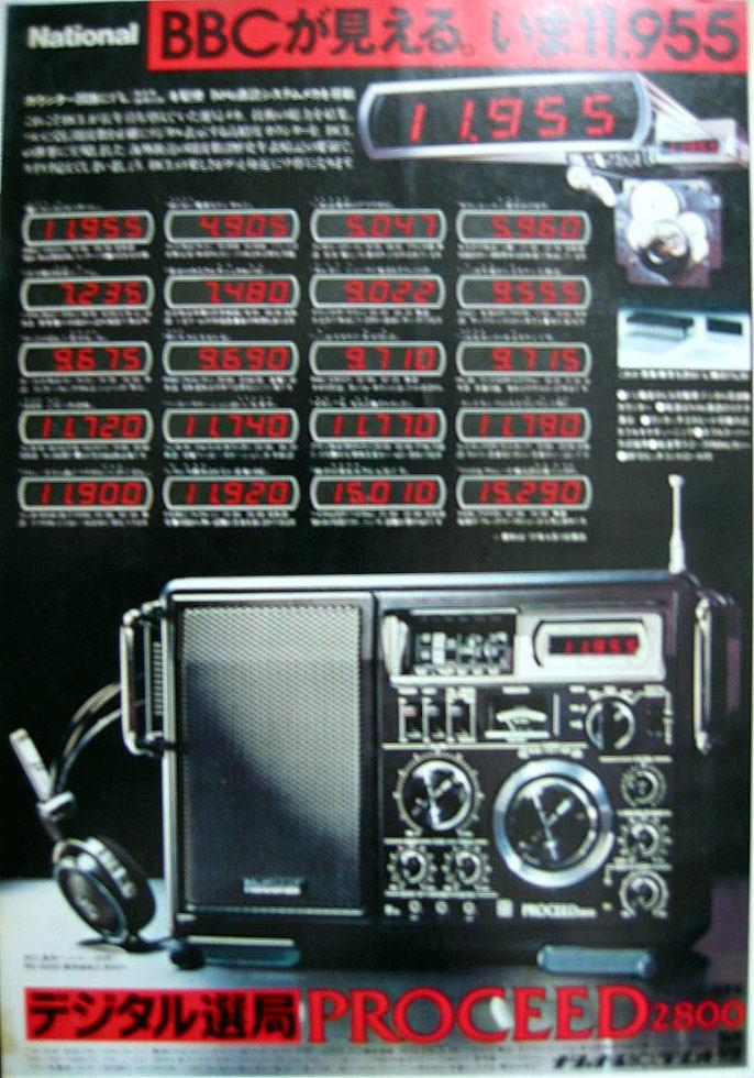 ラジオ・受信機の思い出 ~その9 90mb受信可能なデジタル機 RF2800 ...